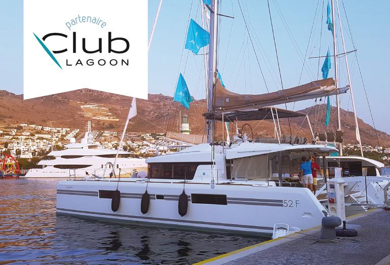FENDERTEX® est partenaire du Club Lagoon